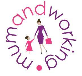 Mum and working logo