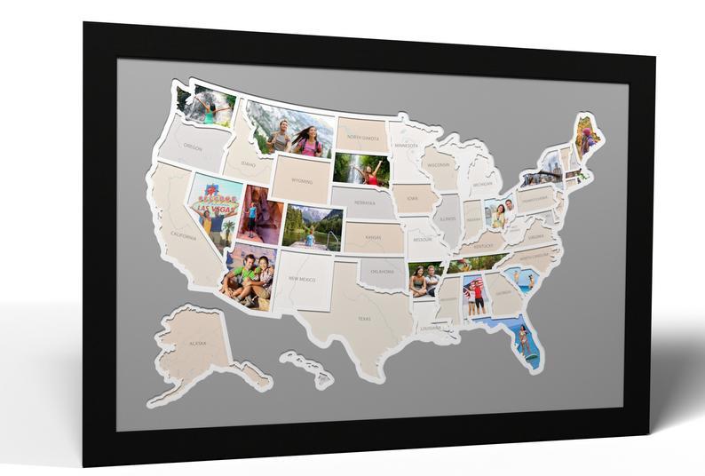 Travel Photo Map USA