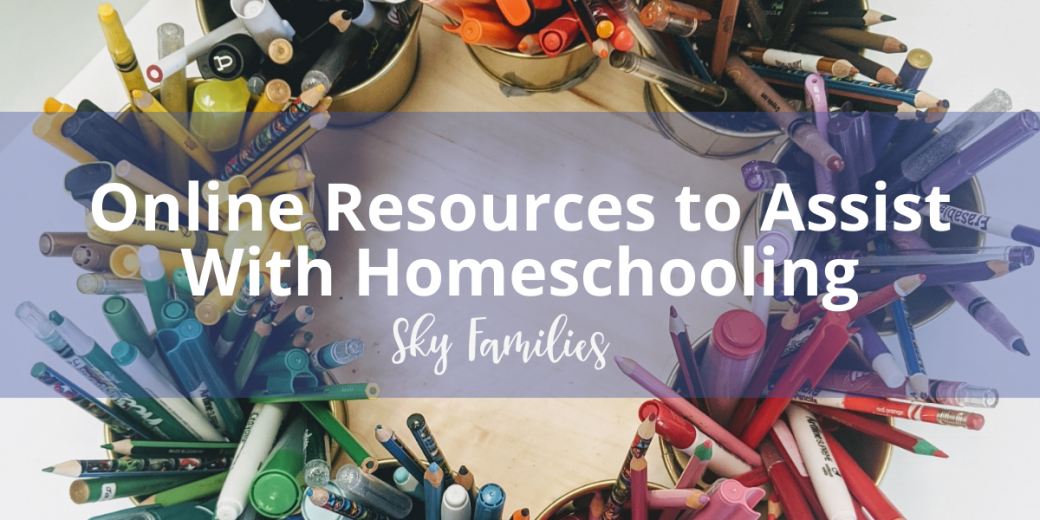 Online Resources to Assist with Homeschooling